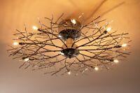 Plafonnier Design Moderne Lustre Lampe à suspension Lampe de salon Chrome 41349