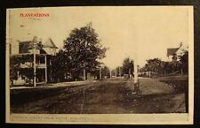 JOHNSON STREET FROM DEPOT, FORSYTH, GEORGIA, Photograph
