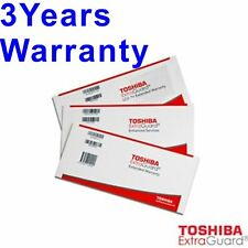 TOSHIBA EXTRA GUARD EXTENDED WARRANTY FROM 1YR -3 YEARS