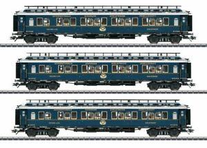 """**Märklin 42791 H0 AC Schnellzugwagen-Set 2, """"Simplon-Orient-Express"""", Neu OVP**"""