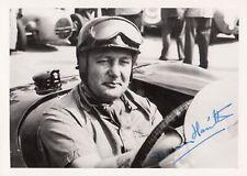 New listing HAND SIGNED DUNCAN HAMILTON ORIGINAL PERIOD PHOTOGRAPH FOTO HWM F1 GP JAGUAR