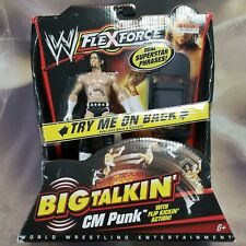 WWE Flexforce Big Talkin' CM Punk with Flip Kickin' Action Carded