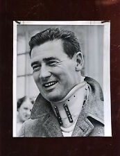 Original April 8 1959 Ted Williams In Neck Brace Wire Photo