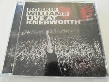Robbie Williams - Live At Knebworth ( CD Album ) Used very good