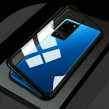 Magnetic Adsorption Metal Case Tempered Glass Cover For Samsung S20 S20+ Ultra