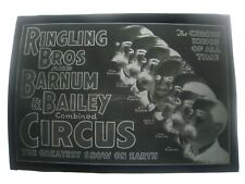 VINTAGE 1920S 7'' X 5'' IN. NEGATIVE..'' CIRCUS KINGS OF ALL TIME ! ''