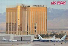 The Mandalay Bay Hotel Casino, Las Vegas Nevada from Airport, Plane --- Postcard