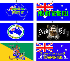 Aussie Theme Quality Stubby Holder -  can add Name to it if required