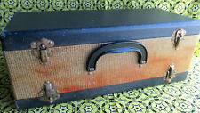 Vintage Airequipt carrying case Wooden photo slide case