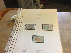 St Helena Unmounted Mint Stamp Set