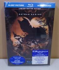Batman Begins (Blu-ray Disc, 2008, Limited Edition Giftset) - Lenticular