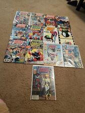 Lot Of 13 Justice League Europe Dc Comics