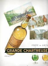 AD PUBLICITE DRINKS BOISSON LA GRANDE CHARTREUSE CHARLES LEMMEL
