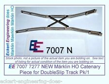 EE 7007 7277 EXC Marklin HO Catenary Piece 7007 7277 for Doubleslip Pk/1