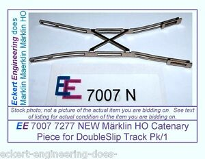 EE 7007 7277 NEW Marklin HO Catenary Piece 7007 7277 for Doubleslip Pk/1