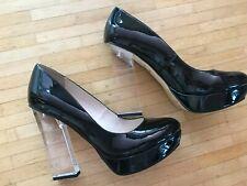 Buffalo High Heels 40, Plateau Pumps, schwarz, Lack, Neu