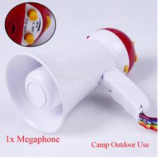 1XHigh Quality Mini Foldable Megaphone Loud Speaker Bull Horn Voice Amplifer Top