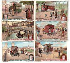 """Liebig Bilder Serie 910 """"Strassenbahnen"""""""