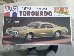 Jo Han 1/25 Oldsmobile Toronado 1970 Hardtop Mint, Boxed and Sealed