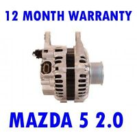Mazda 5 2.0 MPV 2005 2006 2007 2008 2009 2010-2015 Rmfd Alternador