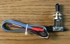 Switchcraft Gibson 3 way guitar switch with 4 conductor wire READY TO DROP IN!