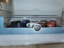 Oxford 76SET39 Set 39 1/76 OO 5 coches de Bentley Mk6 continental Mulsanne soplador de VI