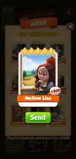 100x mellow lisa  Coin Master Cards (Fastest Delivery)