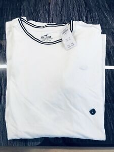 Hollister T Shirt Blanc  Neuf Taille L