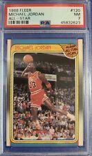 1988 Fleer Basketball #120 MICHAEL JORDAN All Star. PSA 7 NM