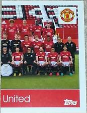 187 MANCHESTER UNITED team right 2016/2017 Topps Merlin Premier League sticker