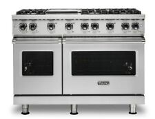 "Viking 5 Series Vgr5486Gss 48"" Pro Gas Range Stainless Steel W/ Dishwasher"