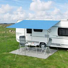 Eurotrail Playa Universal Caravan Motorhome Sun Canopy Awning 450x240 cm Blue