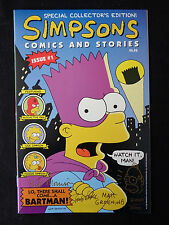 The Simpsons Comics And Stories 1 Signed Sketch Matt Groening #/500 Homer