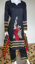 Pakistani Shalwar Kameez Lawn With Embroidery Stitched