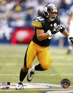 TROY POLAMALU Pittsburgh Steelers 8x10 Action Photo  STEELERS