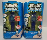 JAKKS PACIFIC JIBBER JABBER The Talk - Back Watch!  Ages 7 & Up Toy Sealed