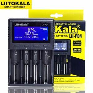 LiitoKala Lii-PD4 Lii-S6 Lii500s battery Charger for 180 210 AA AAA 3.7V/3.2V/1.