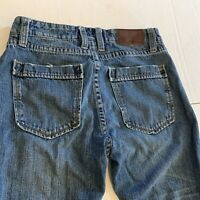 Carbon 2 Cobalt Elemental Mens Button Fly Jeans  Tapered Leg Act 31 x 31