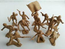 12 Marx WWII Pacific Japanese Soldiers Vintage Original 1963 Playset Figures