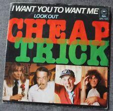Vinyles singles Cheap Trick