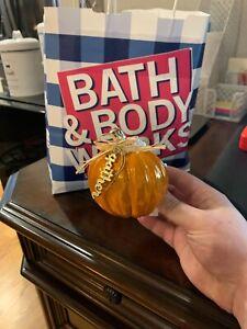 1 X BATH & BODY WORKS WALLFLOWER PLUG - GATHER PUMPKIN FALL THANKSGIVING