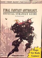 FINAL FANTASY ANTHOLOGY BRADYGAMES OFFICIAL STRATEGY GAME GUIDE