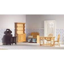 6 pièce cuisine en pin set échelle 1:12 pour maison de poupées emporium