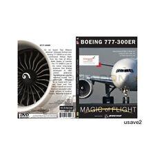 Ethiopian BOEING 777-300 or Ethiopian BOEING 777-200 Aircraft Airplane DVD Video
