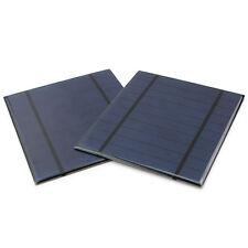 2x Solarpanel 130X150mm 5V2.5W Solarmodul Photovoltaik Solarzelle Monokristallin