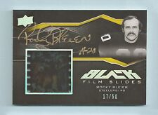 ROCKY BLEIER 2009 UD BLACK FILM SLIDES GAME USED FILM /50 STEELERS