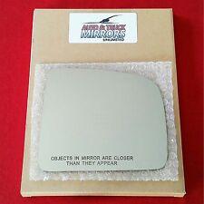 NEW Mirror Glass + ADHESIVE 99-03 LEXUS RX300 Passenger Right Side - DIM