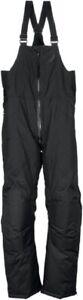 Arctiva Adult Pivot Insulated Snowmobile Pants Snow Bibs Black 5XL
