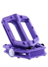 Fatboy Mini BMX Pro Pedals Purple (9/16in; Set of 2)