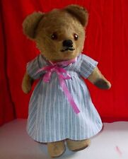 ANTIQUE TEDDY BEAR 'BABY JANE' CHAD VALLEY 13 INCHES 1930's